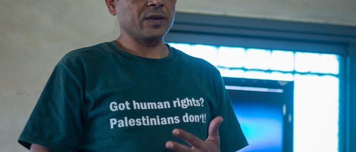 T-skjorte: Got human rights? Palestinians don't.