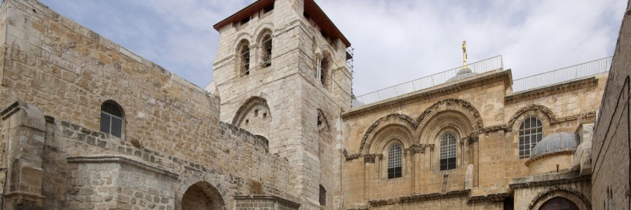 Kirke i Jerusalem. Foto: Berthold Werner [GFDL eller CC-BY-SA-3.0-2.5-2.0-1.0], via Wikimedia Commons