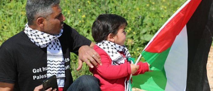 palestiner med barn