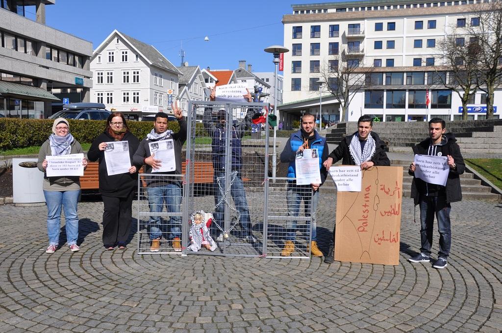 Den palestinske fangedagen i Haugesund