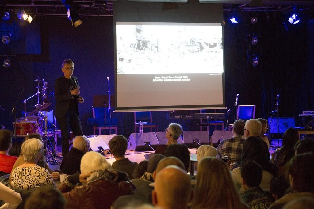 Engasjerende foredrag på Dokkhuset