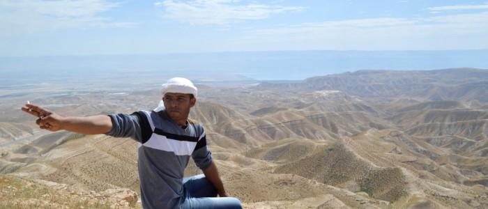 Beduin på Vestbredden.