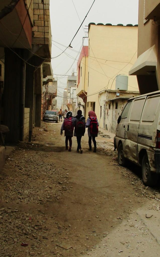 Palestinske skolejenter i Rashedieh. Foto: Heidi Stubbs Holdal