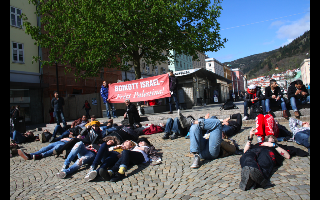 Sultestreik i Bergen 17 april 2013