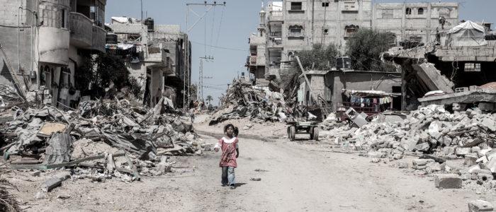 Gaza, september 2014. Foto: Bjørn Owe Holmberg