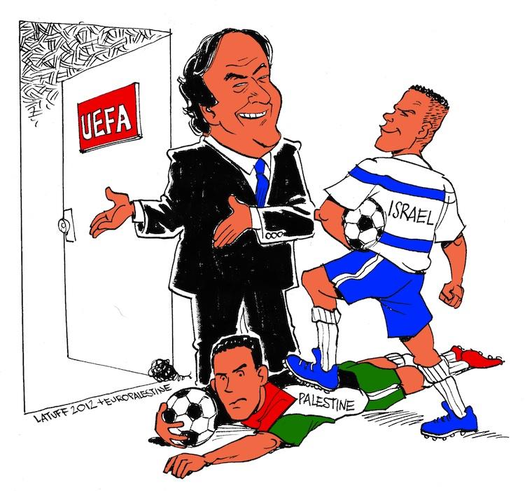 platini-invites-israeli-football-into-uefa-over-the-body-of-palestinian-football