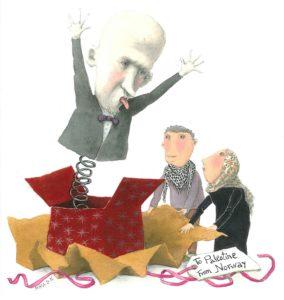 Oljeminister Tord Lien (Frp): Troll i eske for palestinerne.